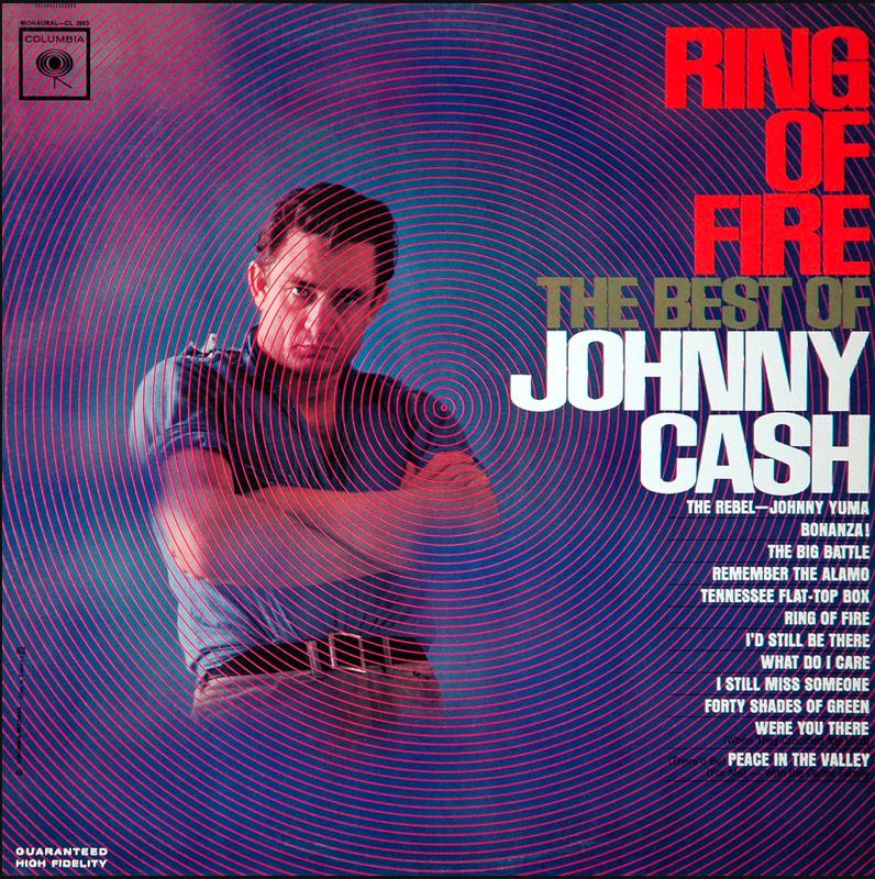 Ring Of Fire Johnny Cash Album Art