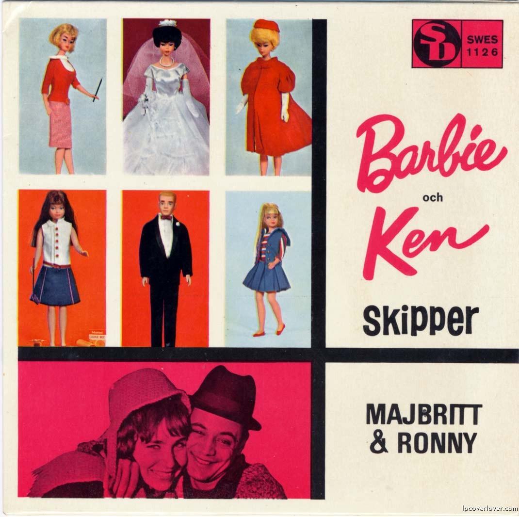 Peter sent us this swedish 7 from 1966 barbie och ken b w